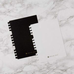 Large Planner Bookmark (For Spiral Planner Only) – Black