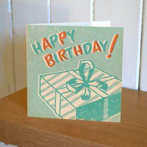 Matchbook Birthday Present Card