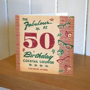 Matchbook 50th Birthday Card - MATCH 6 IN SITU 500x500