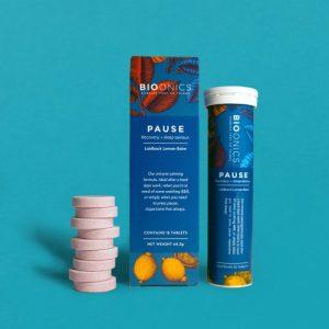 Pause - Sleep Saviour - PAUSE Tube Box Tabs TURQ 500x500