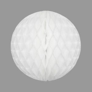 Honeycomb Ball 25cm, White