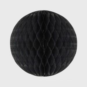 Honeycomb Ball 25cm, Black