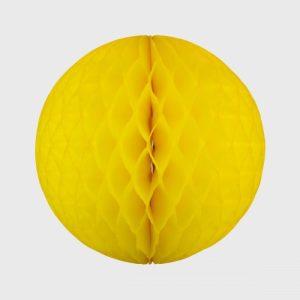 Honeycomb Ball 35cm, Bright Yellow