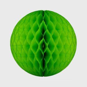 Honeycomb Ball 50cm, Bright Green