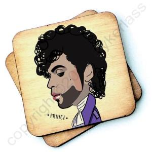Prince Character Wooden Coaster – RWC1 – Pack of 6