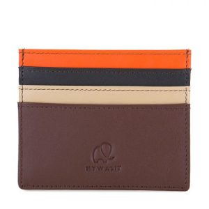 Small Credit Card Oystercard Holder - Cacao - Small C C Oystercard Holder Cacao Front 500x500