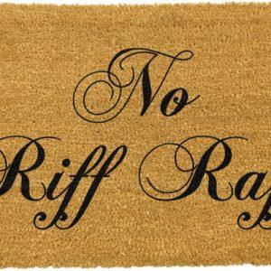 No Riff Raff Doormat