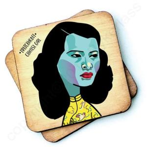 Tretchikoff's Chinese Girl Character Wooden Coaster – RWC1 – Pack of 6