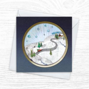 Christmas Cards - The Diorama Collection - Nearly Home - Xmas Diorama 1 CREOATE 500x500