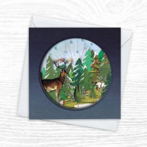 Christmas Cards - The Diorama Collection - Adorned - Xmas Diorama 2 CREOATE 500x500
