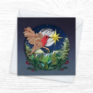 Christmas Cards - The Diorama Collection - Robin Redbreast - Xmas Diorama 6 CREOATE 500x500