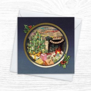 Christmas Cards - The Diorama Collection - The Big Day - Xmas Diorama 8 CREOATE 500x500