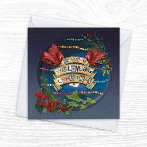 Christmas Cards - The Diorama Collection - Sending You Love - Xmas diorama 5 CREOATE 500x500
