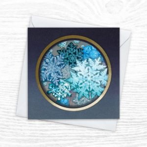 Christmas Cards - The Diorama Collection - First Frost - Xmas diorama 7 CREOATE 500x500
