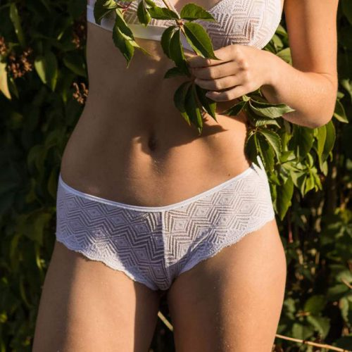 Olly-ethical-lingerie-white-shorty-recycled-lace