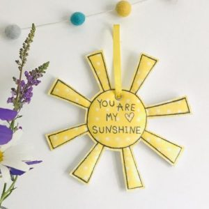 Flossy Teacake You are my sunshine Hanging Decoration - il 794xN.2390775440 p6cd 500x500