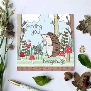 Flossy Teacake Sending Hedgehugs Woodland Card - il 794xN.2453615036 8n2b 500x500