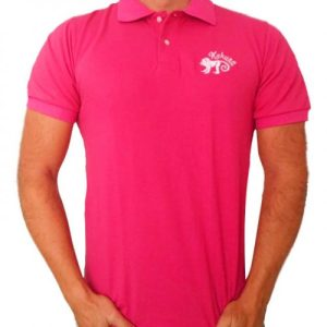 Monkey polo shirt Pink - pink polo 500x500