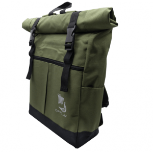 OPPLAV Rider backpack, Double padded shoulder strap and special handle. Adjustable inner pocket.(Green)