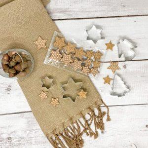 Stars - Cork deco articles, 24 pcs - 01 star cork decoration kork deko sterne sughero corcho en liege pepmelon 500x500