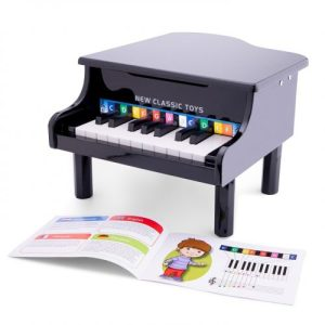 New Classic Toys - Grand Piano Black - 18 keys - 10150 500x500