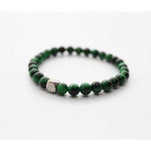 Tiger's Eye Green Bracelet 6mm