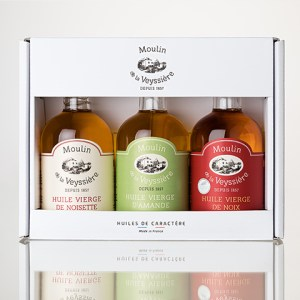 Box of 3 Oils - Almond - 3 x 10 cl - (pack of 10 boxes) - 15 coffret 3 huiles amande 2