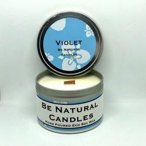 Tinned Soy Candle Violet