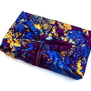Autumn Stone Print Gift Wrap (55x55cm)