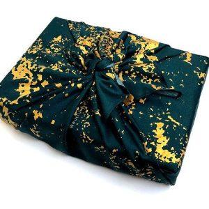 Winter Stone Print Gift Wrap (55x55cm)