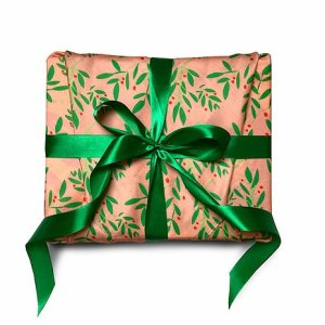 Miss Mistletoe Gift Wrap (55x55cm)