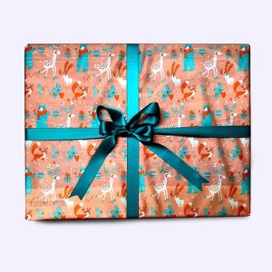 Friends of the woods Gift Wrap (85x85cm)