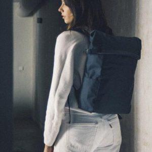 LA Backpack · Navy (British Millerain)