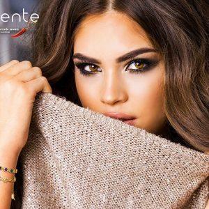 """""""Arlequin"""" bracelet 18cts Goldplated version"""