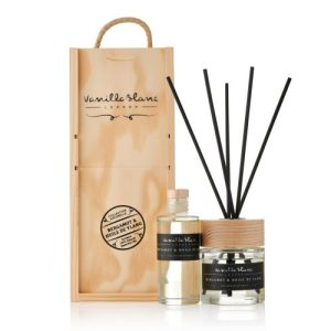 REED DIFFUSER GIFT SET – COMPLETE WITH REFILL Bergamot & Huile de Ylang