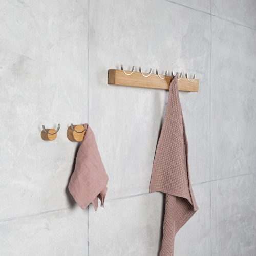 coat rack steel hooks