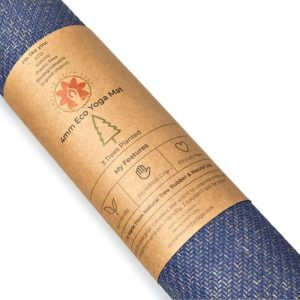 Midnight Blue 4mm – CompleteGrip™ Eco Friendly Yoga Mat