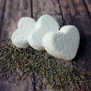Lavender Bath bombs – Essential Oil Bath Bombs – Mess Free – Vegan – Oil Free – Natural Bath bombs Pack of 3