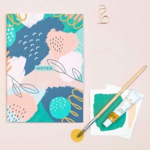 Floral Dotted Notebook