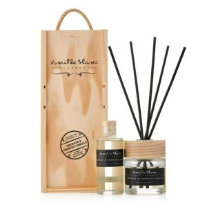 REED DIFFUSER GIFT SET - COMPLETE WITH REFILL Grenade & Frosted Vanilla - Grenade Gift Set 500x500