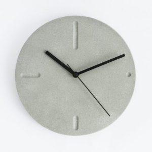 Wall Clock in Cool Grey