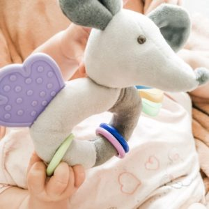 Pip The Mouse Sensory Rattle and Teether
