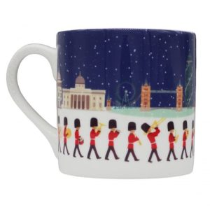 London Seasons Winter Christmas Large Bone China Mug - London Seasons Winter 500x500