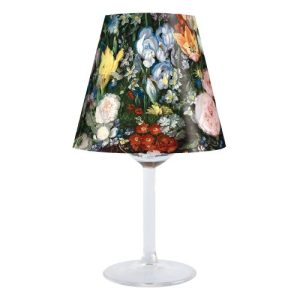 Baroque Flowers Lampshade - PVLSBARROC 500x500