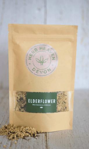 Elderflower, Elderberry & Hibiscus Herbal Tea-Pouch