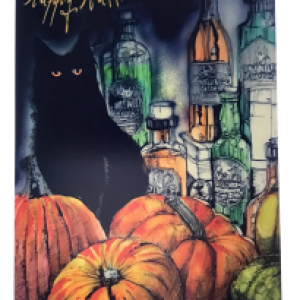Greeting Cards – Potion kitty – Happy Halloween – pack of ten