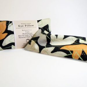 Heated/Cooled, Organic cotton Eye Pillow – Relaxation – Cosmos