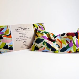 Heated/Cooled, Organic cotton Eye Pillow - Relaxation - Pebbles - Slow Moon Pebbles1 500x500