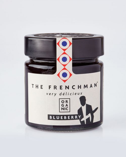 Organic Blueberry Fruit Spread - The Frenchman 13770 grey 500x625