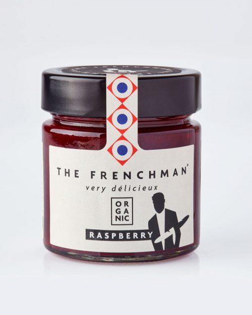Organic Raspberry Fruit Spread - The Frenchman 13774 grey 500x625